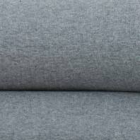 Tissu tubulaire bord-côte gris clair