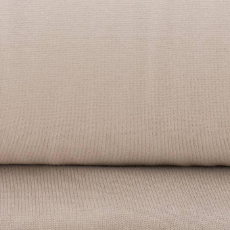 Tissu tubulaire bord-côte mastic