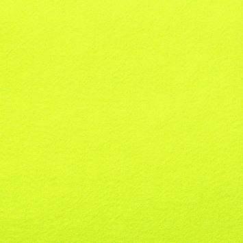 Feutrine jaune fluo 91cm