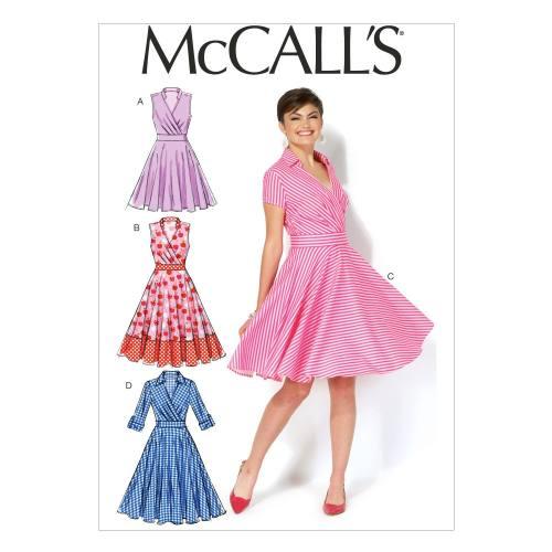 Patron Mc Call's M7081: Robe Taille: 42-50