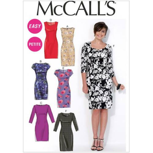 Patron Mc Call's M7085: Robe Taille: 42-50