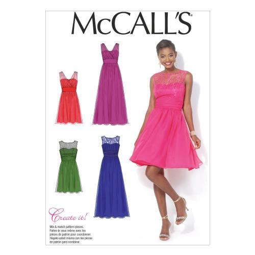 Patron Mc Call's M7090: Robe Taille: 36-44