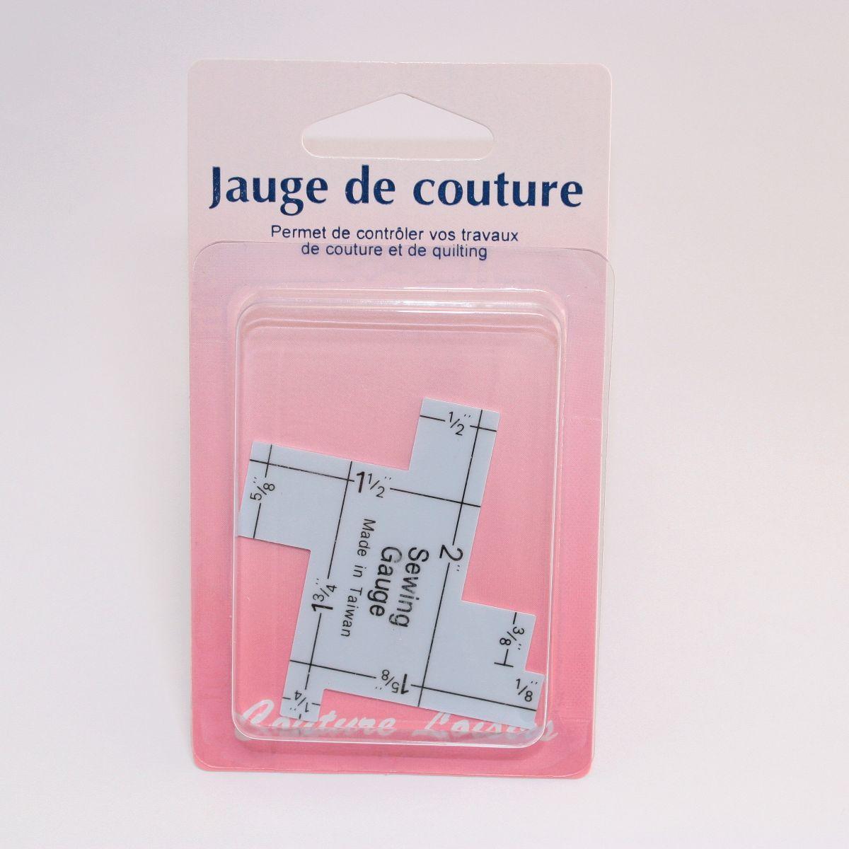 Jauge de couture