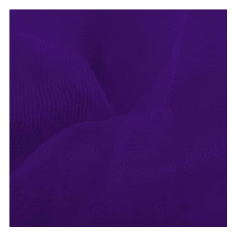 Tulle violet foncé