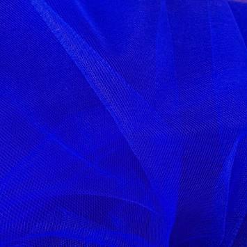 Tulle bleu roi