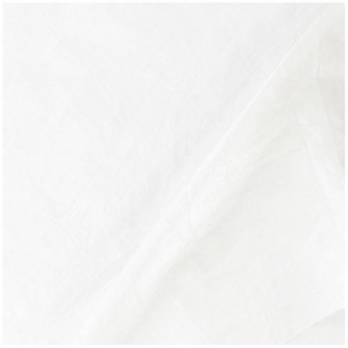 Taffetas blanc doublé en maille contrecollée