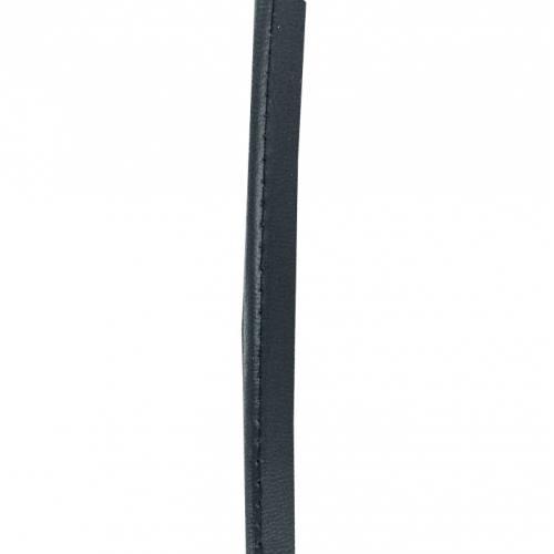 Passepoil simili cuir 10 mm bleu marine