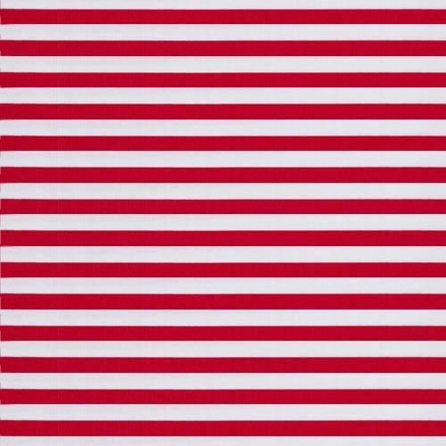 Jersey rayé rouge et blanc