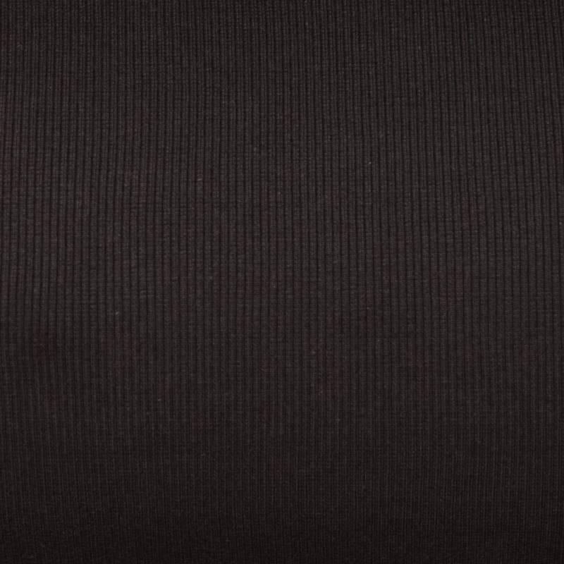 tissu tubulaire bord c te maille marron fonc tissus price. Black Bedroom Furniture Sets. Home Design Ideas