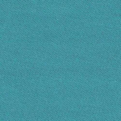 Toile coton bleue turquoise grande largeur