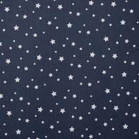 Coton zetoile couleur marine
