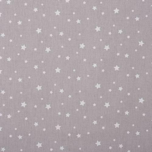 Coton zetoile couleur gris clair