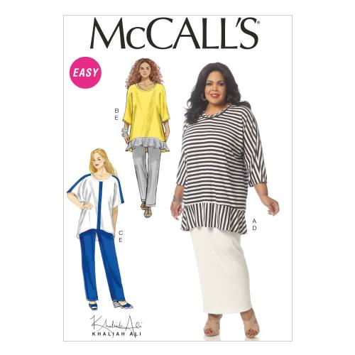 Patron Mc Call's M7134: Tunique, jupe et pantalon Taille: 36-44