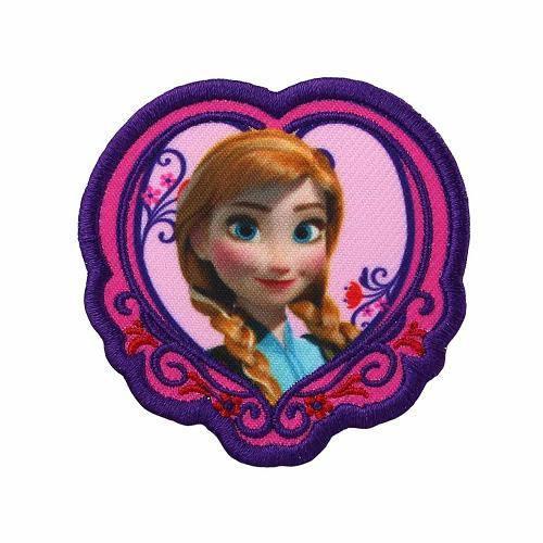 """Ecusson Disney """"La reine des neiges Anna"""" thermocollant"""