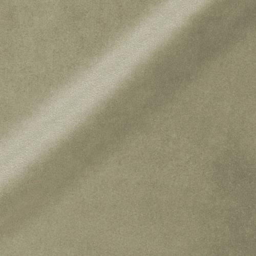 Velours ras d'ameublement uni vert de gris