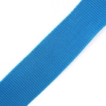 Sangle bleu lagon 25 mm