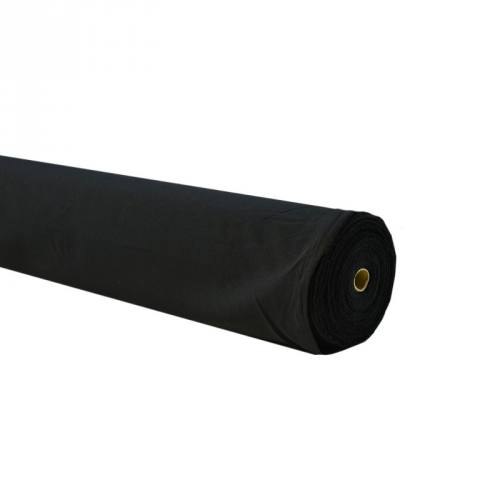 Rouleau 50m Burlington infroissable noir