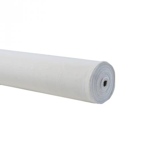 Rouleau 60m Burlington infroissable blanc