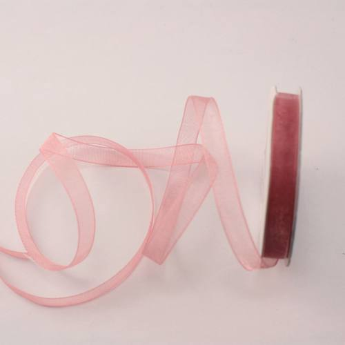 Ruban organdi en bobine balais 6 mm
