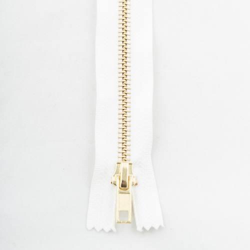 Fermeture 55 cm métal séparable Col 101