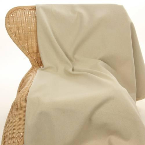Toile coton naturelle 150 cm