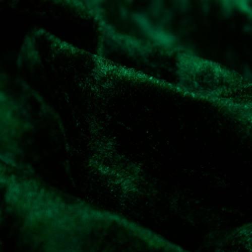 Panne de velours vert sapin