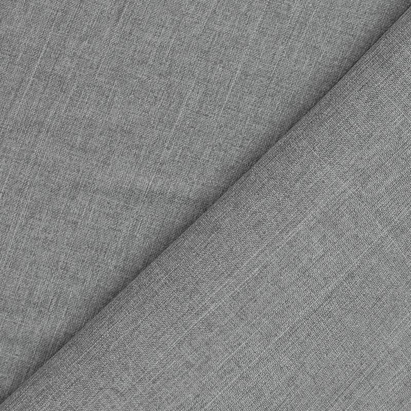 Burlington infroissable chiné gris
