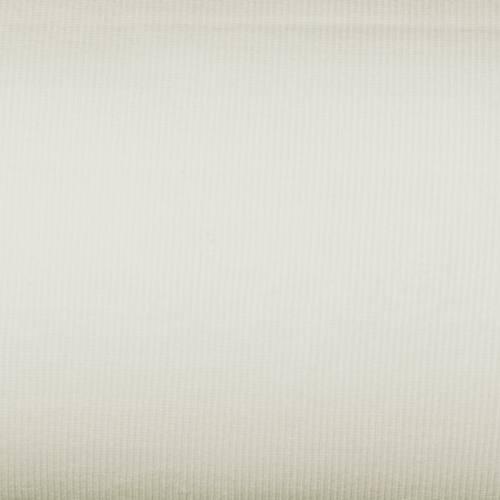Tissu tubulaire bord-côte maille blanc cassé