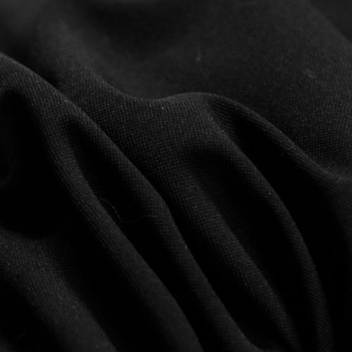 Tissu tergal noir