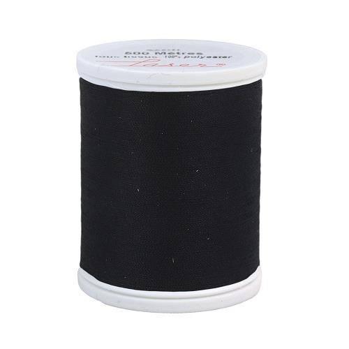 Fil à coudre polyester 500m noir 2001