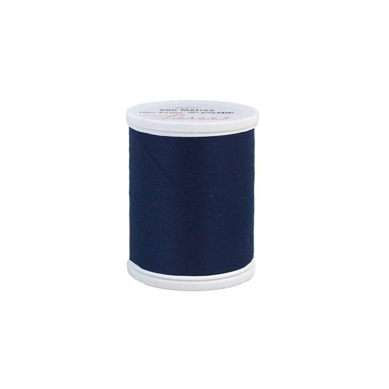 Fil à coudre polyester bleu roi 2258