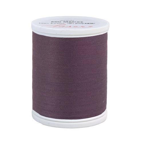Fil à coudre polyester 500m mauve 2310