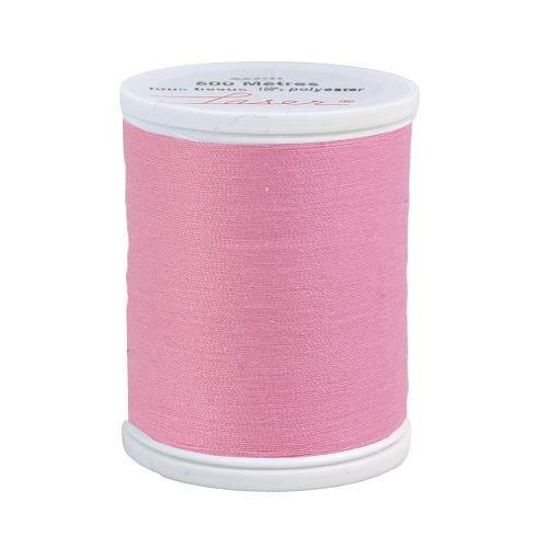 Fil à coudre polyester rose 2430
