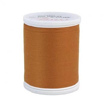 Fil à coudre polyester cuivre 2607