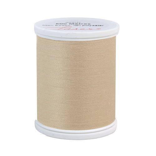 Fil à coudre polyester beige 2802