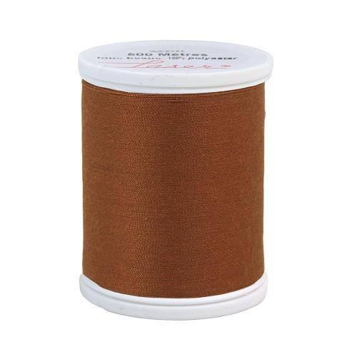 Fil à coudre polyester 500m marron 2848