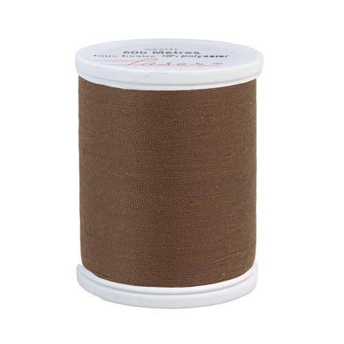 Fil à coudre polyester 500m marron 2850
