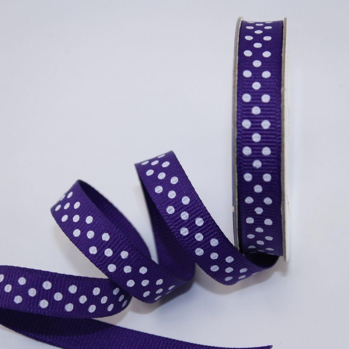 Ruban en bobine violet 9 mm