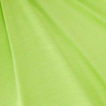 Jersey viscose uni vert anis