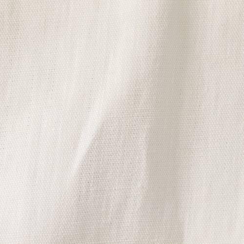Toile de lin blanc