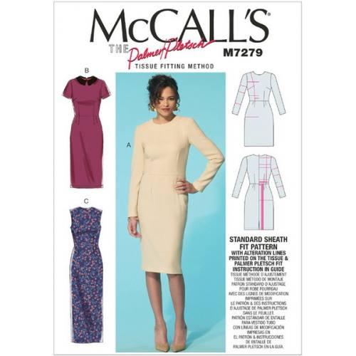 Patron Mc Call's M7279: Robe Taille 36-52