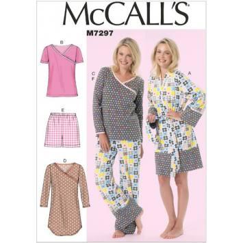 Patron Mc Call's M7295: Haut et Pantalon Taille: 34-42