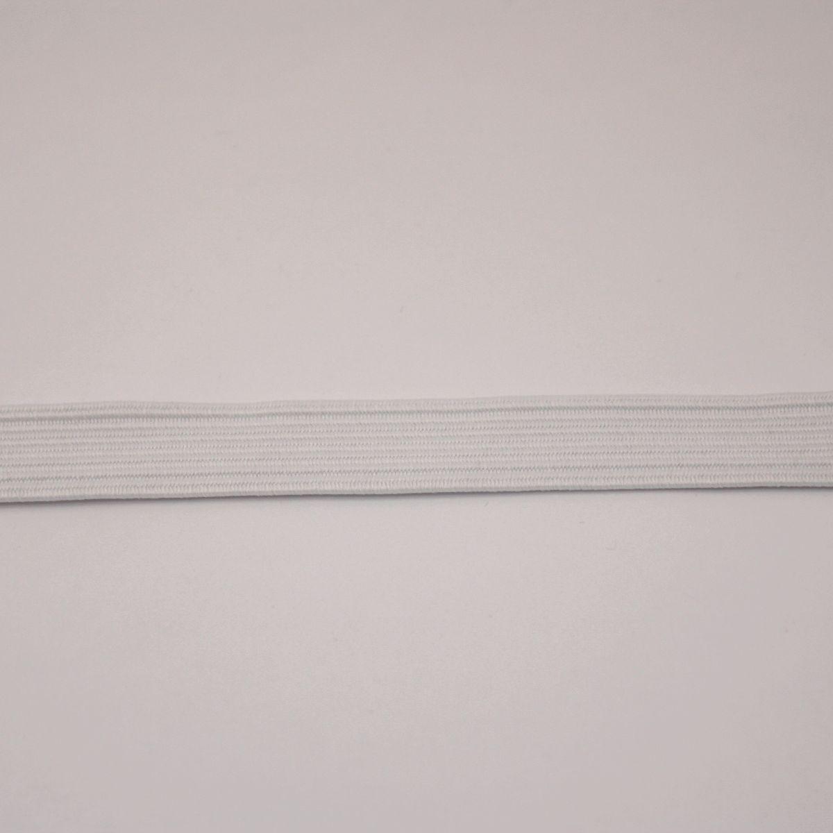 Elastique blanc 10 mm