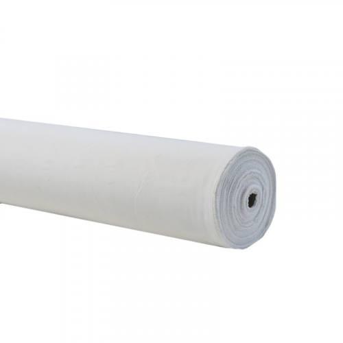 Rouleau 50m Burlington infroissable blanc