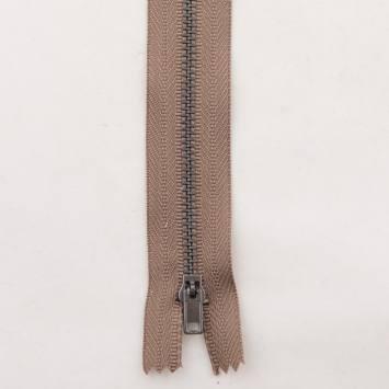 Fermeture pantalon 18 cm métal non séparable Col 158