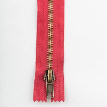 Fermeture 12 cm métal non séparable Col 113
