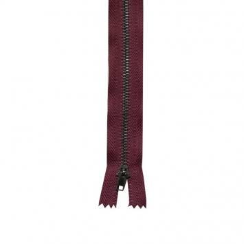 Fermeture pantalon 18 cm métal non séparable Col 116