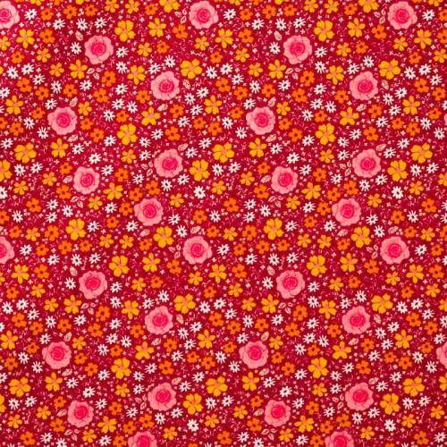 Coton anisley vieux rose