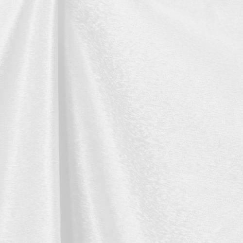 Toile aspect velours blanche
