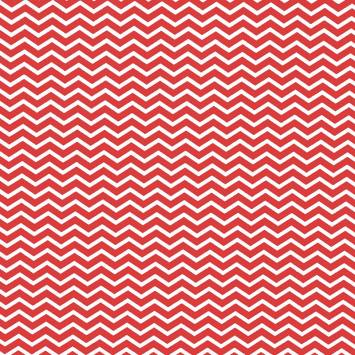 Coton chevron rouge